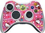 Hello Kitty Xbox 360 Wireless Controller Skin - Hello Kitty Music Pattern Vinyl Decal Skin For Your Xbox 360 Wireless Controller