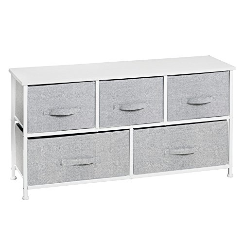 Interdesign Aldo Fabric 5 Drawer Dresser And Storage