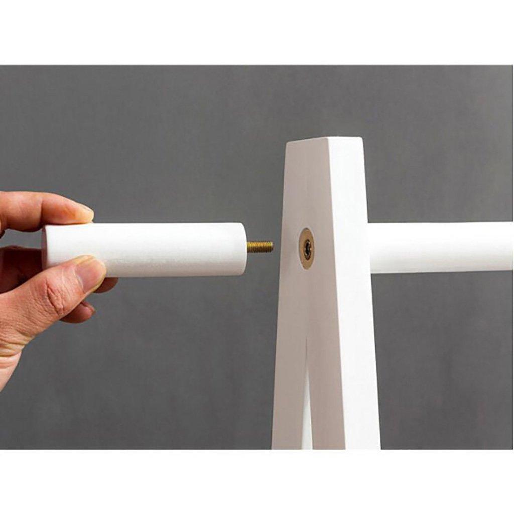 Perchero Moderno Minimalista de la Sala de Estar Perchero para Dormitorio Perchero Color : A, Tama/ño : 60 * 45 * 149cm Perchero Simple para el Suelo LXSnail Perchero de Madera Maciza