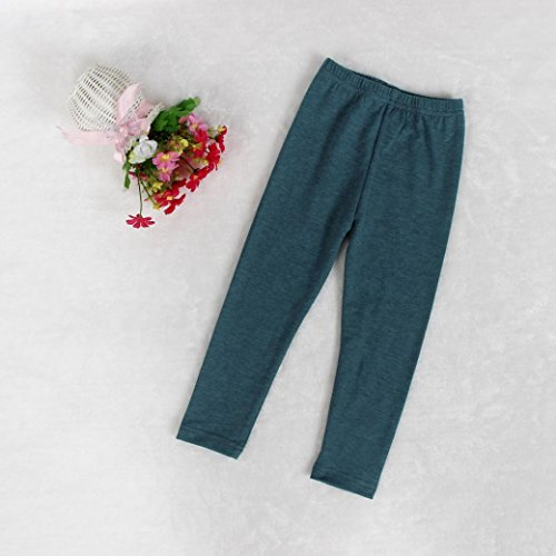 Omiky® Kleinkind Kinder Mädchen Outfit Kleidung Warm Langarm T-shirt + Lange Hosen 1 Satz Grau