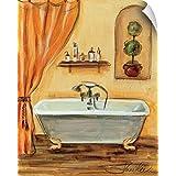 "Silvia Vassileva Wall Peel Wall Art Print entitled Tuscan Bath I 16""x20"""