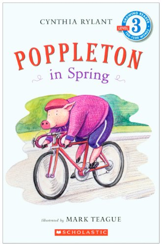 Poppleton In Spring (Turtleback School & Library Binding Edition) (Scholastic Reader: Level 3) by Turtleback