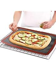 Nonstick Oven Silicone Baking Mat for cookies pies and other meals حصيرة فرن سيليكون غير لاصقة للطبخ والمعجنات وغيرها من الأطباق تطبخ داخل الفرن (medium)