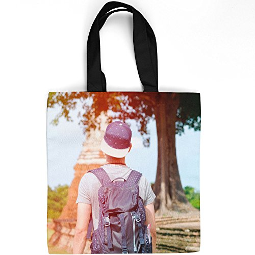 Westlake Art - Tourism Travel - Tote Bag - Picture Photography Shopping Gym Work - 16x16 Inch (D41D8)