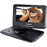 Sylvania SDVD9319 Portable Dvd Player With 9-inch Swivel Screen And Usb/sd Reader
