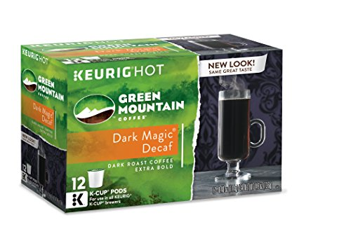 Green Mountain Coffee Dark Magic Decaf, Keurig K-Cups, 72 Count