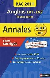 Anglais LV1-LV2 toutes séries : Sujets corrigés