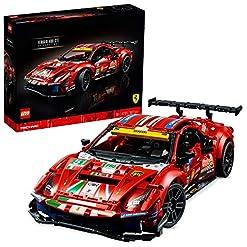 LEGO 42125 Technic TechnicFerrari488GTE«AFCorse#51» Modèle Authentique de la Voiture de Course d'Endurance à Exposer 11