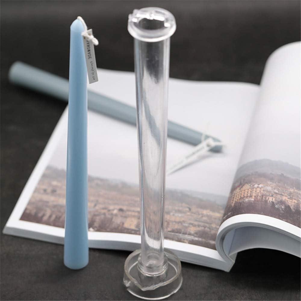 LQKYWNA Kerzenherstellung Mold DIY handgemachte Fertigkeiten Rod-Shaped Candle-Modell Zubeh/ör f/ür Hochzeit Dinner Party Kerzen Herstellung