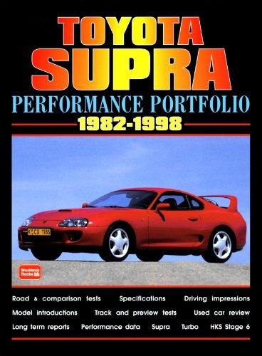 Toyota Supra 1982-1998 -Performance Portfolio (Brooklands Road Test Books) (Toyota Supra Performance)