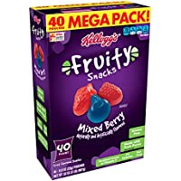 40-Count Mixed Berry Fruity Snacks Gluten Free 32 oz.