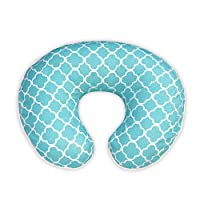 Boppy Pillow Slipcover, Classic Plus Trellis Turquoise/Blue