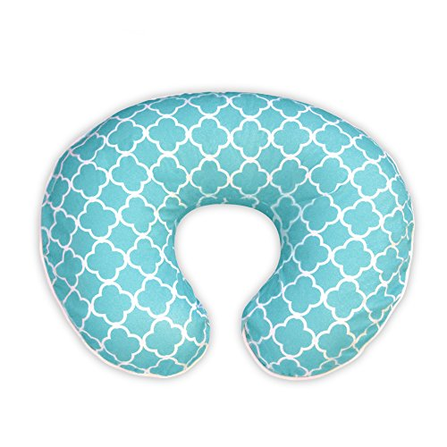 boppy-pillow-slipcover-classic-plus-trellis-turquoise-blue