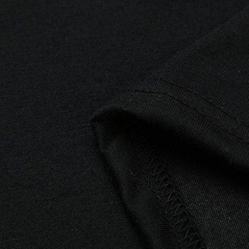 A en Haut Longue Femmes ~ S Manche Wolfleague Shirts Chemisier Vrac Blouse Chemises Impression De Femme Shirt Filles paule T XL Casual Chat Noir qxwaOfwng
