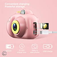 Toys uncle Kids Digital Camera 📸 with Soft Silicone Shell & 2.0 inch Screen