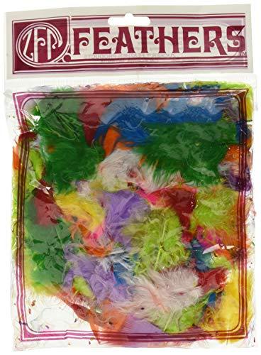 Zucker Feather (TM) - Loose Turkey Marabou Mix Dyed - Assorted Mix
