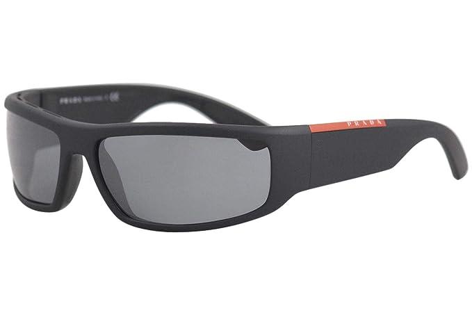 Prada Linea Rossa 0PS 02US Gafas de sol, Black, 64 para ...