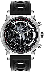 Breitling Transocean Chronograph Unitime Mens Watch AB0510U4/BE84-201S