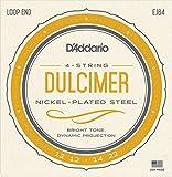 D'Addario EJ64  4-String Dulcimer Strings: more info