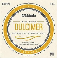 D'Addario EJ64   4-String Dulcimer Strin...