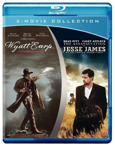 Wyatt Earp / The Assassination of Jesse James by the Coward Robert Ford [Blu-ray] by Warner Home Video