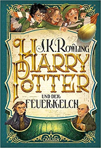 Harry Potter 4 Und Der Feuerkelch Rowling J K 9783551557445 Amazon Com Books