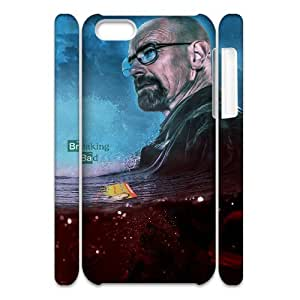 QSWHXN Customized 3D case Breaking bad for iPhone 5C