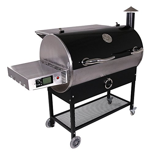 REC TEC Grills Bull | RT-700 | Bundle | Wifi Enabled | Portable Wood Pellet Grill | Built in Meat Probes | Stainless Steel | 40lb Hopper | 6 Year Warranty | Hotflash Ceramic Ignition System