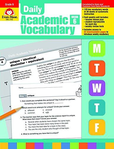 Daily Academic Vocabulary, Grade (Teacher Supply Store Dallas)