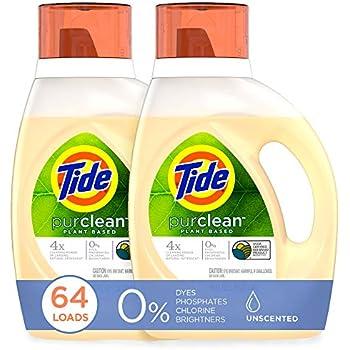 Amazon Com Tide Purclean Plant Based Laundry Detergent