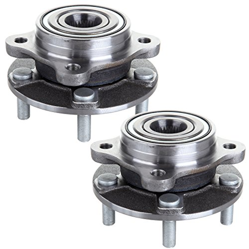 Dodge Stealth Wheel Bearing - ECCPP Replacement for Pair of 2 New Complete Front Wheel Hub Bearing Assembly 5 Lugs for 1991-1996 Dodge Mitsubishi 513133¡Á2