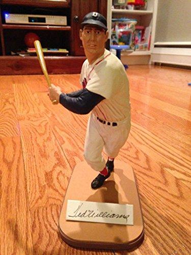 Ted Williams Autographed Gartlan - Ted Figurine Williams