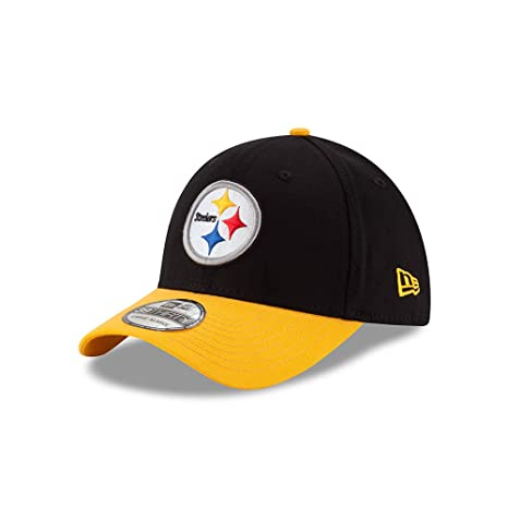 online store dc07d 480dc New Era Pittsburgh Steelers Clean Hit 39THIRTY Flex Fit Hat Cap Small Medium