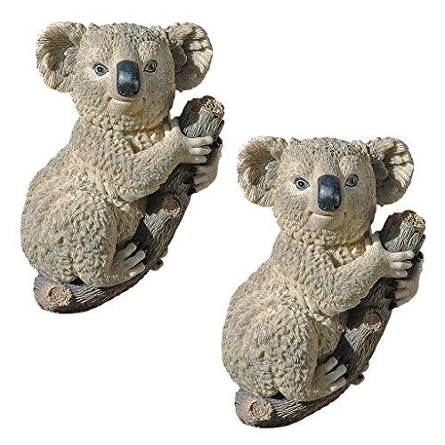Design Toscano The Climbing Koala Sculpture (Set of 2)