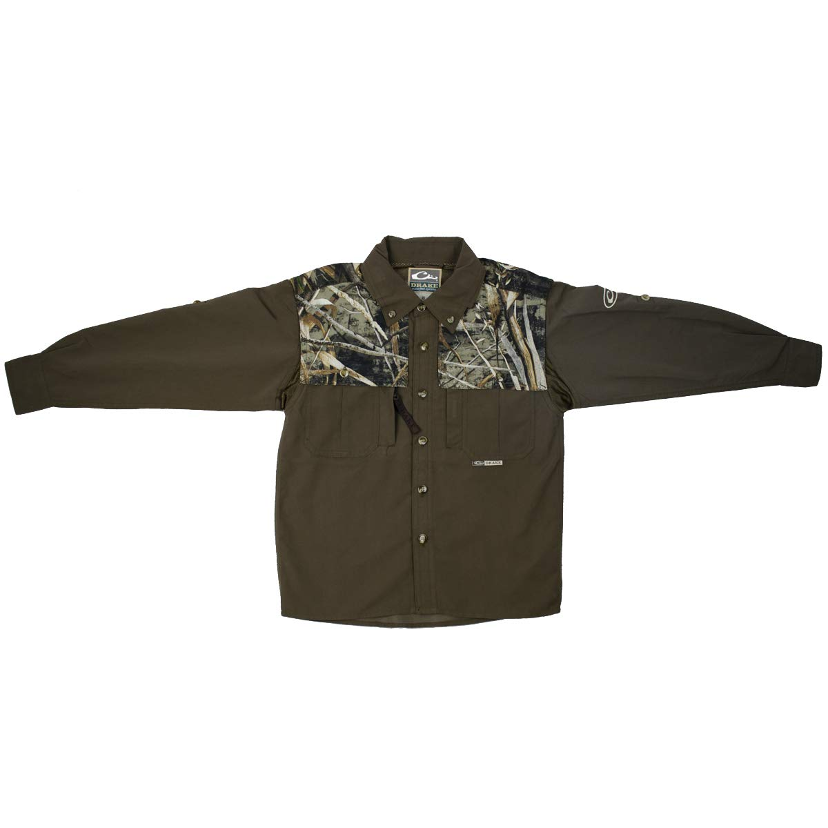 Drake Youth 2-Tone Vented Wingshooter LS Realtree Max-5 14Y