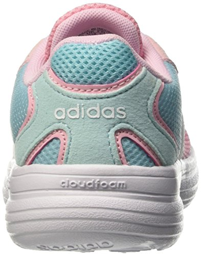 adidas Mädchen Cloudfoam Speed K Laufschuhe mehrfarbig (Bluzes/Ftwwht/Diva)