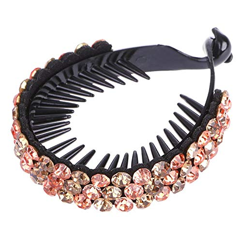 1 Piece Women Hair Clip Nest Rhinestone Hairpin Claws for sale  Delivered anywhere in Canada