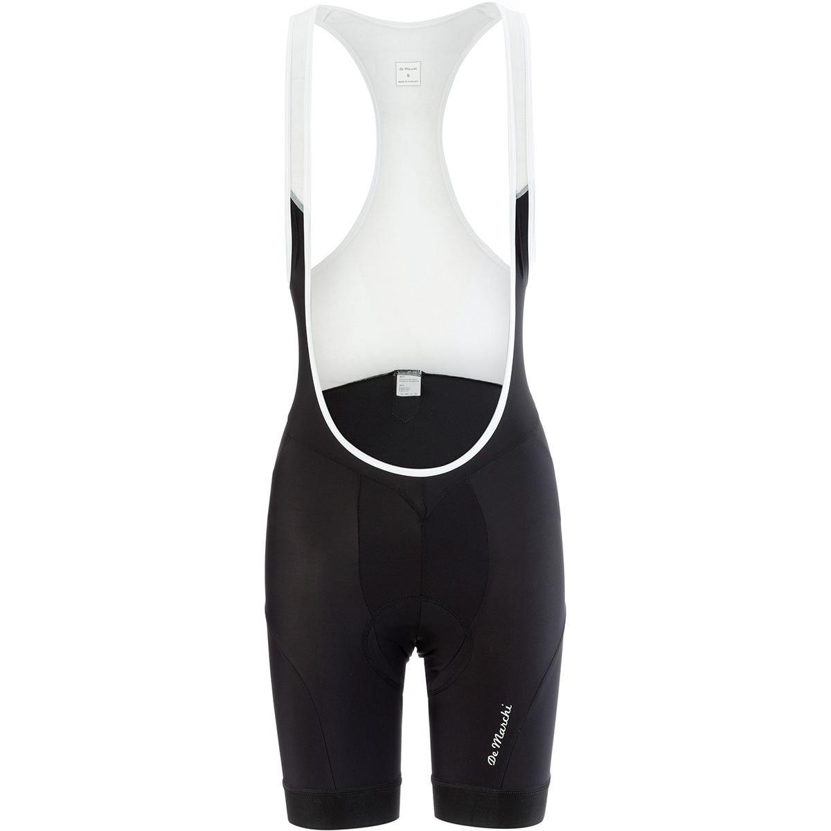 De Marchi Leggero Bib Short – Women 's X-Small ブラック B07CSWYD6J