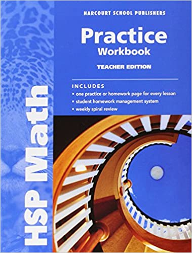 HSP Math Practice Workbook Teacher Edition