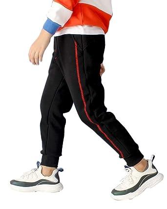 Liangzhu Pantalones De Chándal School Jogging Unisex Niños Niñas ...