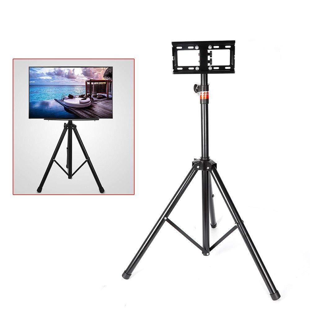 三脚テレビディスプレイ ポータブルフロアスタンド テレビ LCD フラットパネルモニターマウント 18インチから32インチのフラットスクリーン用   B07PMKDV58