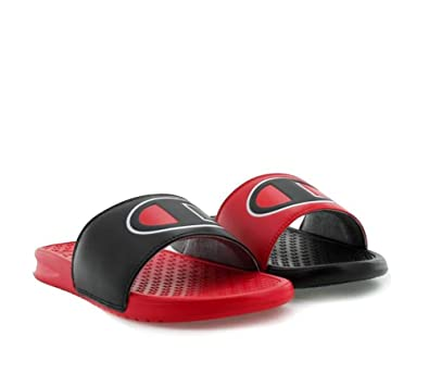 f801a7606e Champion Mens Mix and Match Slide Red 8