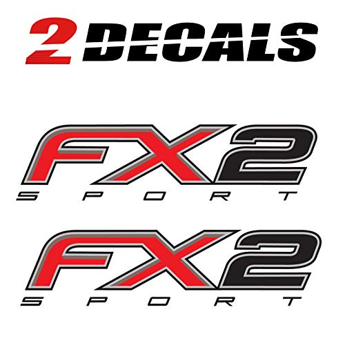Ford F150 FX2 Sport Decals F Stickers Truck 4x4 Bed Side (Set of 2)