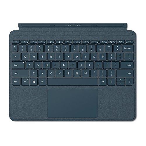 Microsoft Surface Go Alcantara Signature Type Cover, Model 1840 (KCS-00021) Cobalt Blue (Microsoft Type Cover For Surface Pro Blue)
