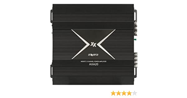 Amazon.com: Axxera AXA20 900 Watts Dynamic Power 2/1 Channel Amplifier: Car Electronics