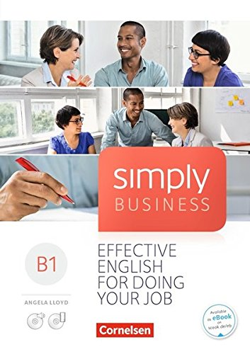 Simply Business: B1 - Coursebook: Mit Video-DVD, Audio/MP3-CD und App