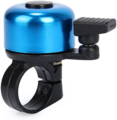 Bike Cycling Alarm Bell Bicycle Metal Horn Ring Mini Security Handlebar Bell