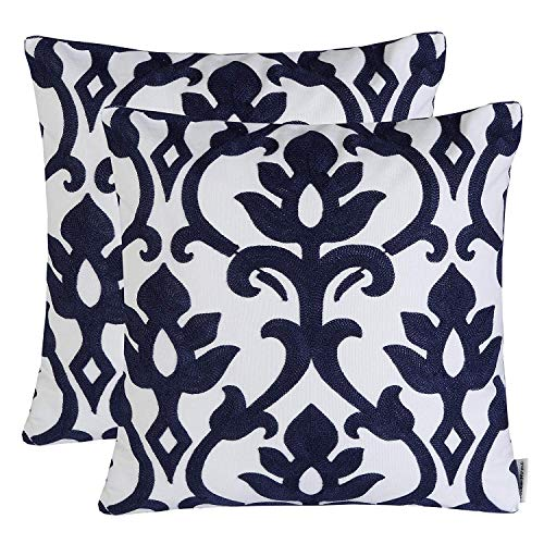 PAZİLLO Throw Pillow Covers Cotton Linen Pillow Case Decorative Pillowcses Invisible Zipper