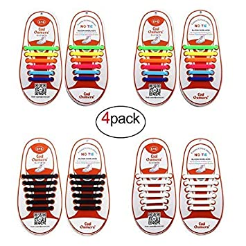 Shoelaces For Christmas.No Tie Shoelaces For Kids Adult Perfect Christmas Gift For Family Friends