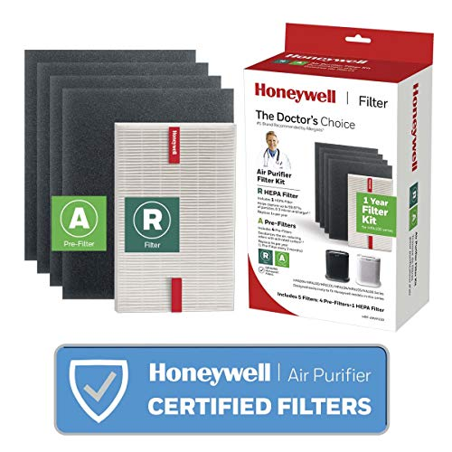 Honeywell True HEPA Filter Value Combo Pack for HPA100 Series Air Purifiers